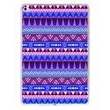 TPU0IPADAIR2AZTEQUEBLEUVIO - Coque souple pour Apple iPad Air 2 avec impression Motifs aztèque bleu et violet