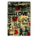 TPU0IPADAIR2LOVEVINTAGE - Coque souple pour Apple iPad Air 2 avec impression Motifs Love Vintage