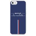 TPU0IPHONE5APRESLESKI - Coque souple pour Apple iPhone 5 avec impression Motifs après le ski la raclette