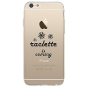 TPU0IPHONE6SRACLETTECOMING - Coque souple pour iPhone 6/6S avec impression Motifs raclette is coming