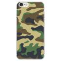 TPU0IPHONE7MILITAIREVERT - Coque souple pour Apple iPhone 7 avec impression Motifs Camouflage militaire vert
