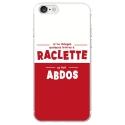 TPU0IPHONE7RACLETTABDOS - Coque souple pour Apple iPhone 7 avec impression Motifs raclette ça fait abdos