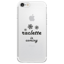 TPU0IPHONE7RACLETTECOMING - Coque souple pour Apple iPhone 7 avec impression Motifs raclette is coming