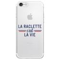 TPU0IPHONE7RACLETTEVIE - Coque souple pour Apple iPhone 7 avec impression Motifs la raclette c'est la vie
