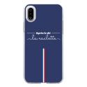 TPU0IPHONEXAPRESLESKI - Coque souple pour Apple iPhone X avec impression Motifs après le ski la raclette