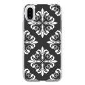 TPU0IPHONEXBAROQUE4 - Coque souple pour Apple iPhone X avec impression Motifs style baroque 4
