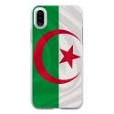 TPU0IPHONEXDRAPALGERIE - Coque souple pour Apple iPhone X avec impression Motifs drapeau de l'Algérie
