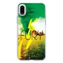TPU0IPHONEXFURY - Coque souple pour Apple iPhone X avec impression Motifs Fury
