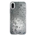 TPU0IPHONEXGOUTTEEAU - Coque souple pour Apple iPhone X avec impression Motifs gouttes d'eau