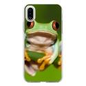 TPU0IPHONEXGRENOUILLE - Coque souple pour Apple iPhone X avec impression Motifs grenouille