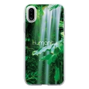 TPU0IPHONEXHUMANITY - Coque souple pour Apple iPhone X avec impression Motifs Humanity