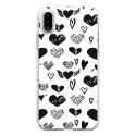 TPU0IPHONEXLOVE1 - Coque souple pour Apple iPhone X avec impression Motifs Love coeur 1