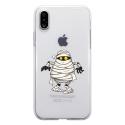 TPU0IPHONEXMOMIE - Coque souple pour Apple iPhone X avec impression Motifs momie
