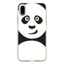 TPU0IPHONEXPANDA - Coque souple pour Apple iPhone X avec impression Motifs panda