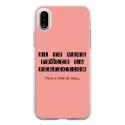 TPU0IPHONEXPERFECTIONROSE - Coque souple pour Apple iPhone X avec impression Motifs frôler la perfection rose