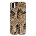 TPU0IPHONEXSERPENT - Coque souple pour Apple iPhone X avec impression Motifs peau de serpent