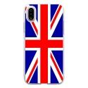 TPU0IPHONEXUNIONJACK - Coque souple pour Apple iPhone X avec impression Motifs Union Jack
