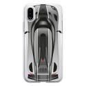 TPU0IPHONEXVOITURE - Coque souple pour Apple iPhone X avec impression Motifs voiture de course