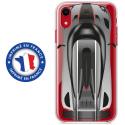 TPU0IPXRVOITURE - Coque souple pour Apple iPhone XR avec impression Motifs voiture de course