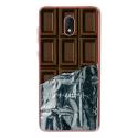 TPU0LENNY5CHOCOLAT - Coque souple pour Wiko Lenny 5 avec impression Motifs tablette de chocolat