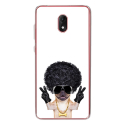 TPU0LENNY5DOGGANGSTER - Coque souple pour Wiko Lenny 5 avec impression Motifs bulldog gangster