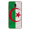 TPU0LENNY5DRAPALGERIE - Coque souple pour Wiko Lenny 5 avec impression Motifs drapeau de l'Algérie