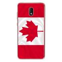 TPU0LENNY5DRAPCANADA - Coque souple pour Wiko Lenny 5 avec impression Motifs drapeau du Canada
