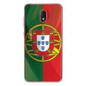 TPU0LENNY5DRAPPORTUGAL - Coque souple pour Wiko Lenny 5 avec impression Motifs drapeau du Portugal