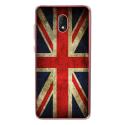 TPU0LENNY5DRAPUKVINTAGE - Coque souple pour Wiko Lenny 5 avec impression Motifs drapeau UK vintage