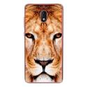 TPU0LENNY5LION - Coque souple pour Wiko Lenny 5 avec impression Motifs tête de lion