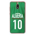 TPU0LENNY5MAILLOTALGERIE - Coque souple pour Wiko Lenny 5 avec impression Motifs Maillot de Football Algérie