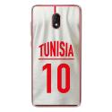 TPU0LENNY5MAILLOTTUNISIE - Coque souple pour Wiko Lenny 5 avec impression Motifs Maillot de Football Tunisie