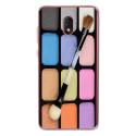 TPU0LENNY5MAQUILLAGE - Coque souple pour Wiko Lenny 5 avec impression Motifs palette de maquillage