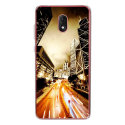 TPU0LENNY5NIGHTSTREET - Coque souple pour Wiko Lenny 5 avec impression Motifs Night Street