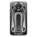 TPU0MOTOCPLUSVOITURE - Coque souple pour Motorola Moto C Plus avec impression Motifs voiture de course