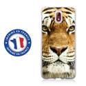 TPU0NOKIA31TIGRE - Coque souple pour Nokia 3-1 avec impression Motifs tête de tigre