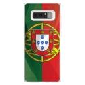 TPU0NOTE8DRAPPORTUGAL - Coque souple pour Samsung Galaxy Note 8 avec impression Motifs drapeau du Portugal