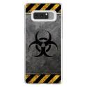 TPU0NOTE8RADIOACTIF - Coque souple pour Samsung Galaxy Note 8 avec impression Motifs radioactif