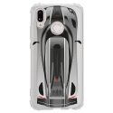 TPU0P20LITEVOITURE - Coque souple pour Huawei P20 Lite avec impression Motifs voiture de course