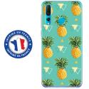 TPU0PSMART19ANANAS - Coque souple pour Huawei P Smart (2019) avec impression Motifs ananas