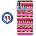 TPU0PSMART19AZTEQUE - Coque souple pour Huawei P Smart (2019) avec impression Motifs aztèque