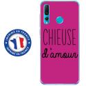 TPU0PSMART19CHIEUSEFUSHIA - Coque souple pour Huawei P Smart (2019) avec impression Motifs Chieuse d'Amour fushia