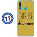 TPU0PSMART19CHIEUSEOR - Coque souple pour Huawei P Smart (2019) avec impression Motifs Chieuse d'Amour or