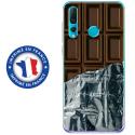 TPU0PSMART19CHOCOLAT - Coque souple pour Huawei P Smart (2019) avec impression Motifs tablette de chocolat