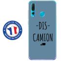 TPU0PSMART19DISCAMIONBLEU - Coque souple pour Huawei P Smart (2019) avec impression Motifs Dis Camion bleu