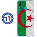 TPU0PSMART19DRAPALGERIE - Coque souple pour Huawei P Smart (2019) avec impression Motifs drapeau de l'Algérie