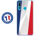 TPU0PSMART19DRAPFRANCE - Coque souple pour Huawei P Smart (2019) avec impression Motifs drapeau de la France