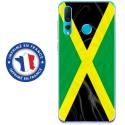 TPU0PSMART19DRAPJAMAIQUE - Coque souple pour Huawei P Smart (2019) avec impression Motifs drapeau de la Jamaïque