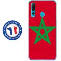 TPU0PSMART19DRAPMAROC - Coque souple pour Huawei P Smart (2019) avec impression Motifs drapeau du Maroc