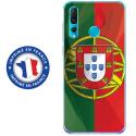 TPU0PSMART19DRAPPORTUGAL - Coque souple pour Huawei P Smart (2019) avec impression Motifs drapeau du Portugal